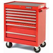 """Proto J442735-7BK 440SS 27"""" Roller Cabinet - 7 Drawer, Black, 27""""L X 35""""H X 18""""D"""