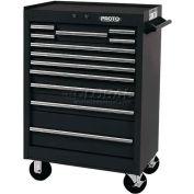 """Proto J442742-12BK 440SS 27"""" Roller Cabinet - 12 Drawer, Black, 27""""L X 42""""H X 18""""D"""