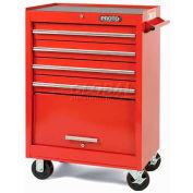 """Proto J442742-4BK 440SS 27"""" Roller Cabinet - 4 Drawer, Black, 27""""L X 42""""H X 18""""D"""
