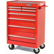 "Proto® 440SS 27"" Roller Cabinet - 8 Drawer, Black, 27""L X 42""H X 18""D"