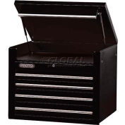 "Proto® 450HS 34"" Top Chest - 4 Drawer, Black, 34""L X 27""H X 25""D"