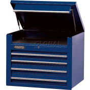 "Proto® 450HS 34"" Top Chest - 4 Drawer, Blue, 34""L X 27""H X 25""D"