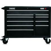 "Proto® 450HS 50"" Workstation - 10 Drawer, Black, 50""L X 41""H X 25""D"