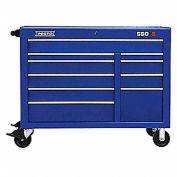 "Proto® 450HS 50"" Workstation - 10 Drawer, Blue, 50""L X 41""H X 25""D"