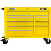 "Proto® 450HS 50"" Workstation - 10 Drawer, Yellow, 50""L X 41""H X 25""D"