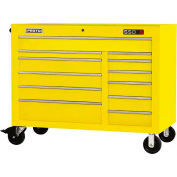 "Proto® 450HS 50"" Workstation - 12 Drawer, Yellow, 50""L X 41""H X 25""D"