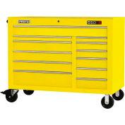 "Proto J555041-12YL 550S Series 50""W X 25""D X 41""H 12 Drawer Yellow Workstation"