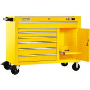 "Proto® 450HS 50"" Workstation - 7 Drawer & 1 Shelf, Yellow, 50""L X 41""H X 25""D"