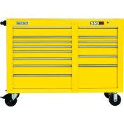"Proto® 450HS 57"" Workstation - 13 Drawer, Yellow, 57""L X 43""H X 25""D"