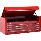"""Proto® 450HS 66"""" Top Chest - 8 Drawer, Tan, 66""""L X 27""""H X 27""""D"""