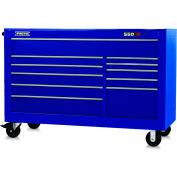 """Proto® 450HS 66"""" Workstation - 11 Drawer, Blue, 66""""L X 46""""H X 27""""D"""