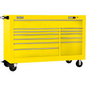 "Proto® 450HS 66"" Workstation - 12 Drawer, Yellow, 66""L X 46""H X 27""D"