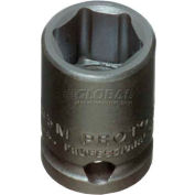 "Proto J7213M 3/8"" Drive Impact Socket 13mm - 6 Point, 1-3/32"" Long"