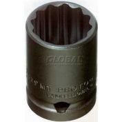 "Proto J7423MT 1/2"" Drive Thin Wall Impact Socket 23mm - 12 Point, 1-1/2"" Long"
