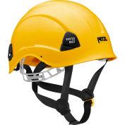 Petzl® Vertex® Best Work & Rescue Helmet, ABS, Yellow, ANSI Class E