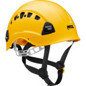 Petzl® Vertex® Vent Work & Rescue Helmet, ABS, Yellow, ANSI Class C