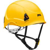 Petzl® Alveo® Best Work & Resue Helmet, ABS, Yellow, ANSI Class E