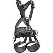 Petzl® Avao® Bod Fast Full Body Harness, Black/Yellow, Size 2