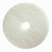 "Boss Cleaning Equipment 13"" White-Polish Pad - Pkg Qty 5"