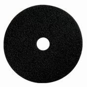 """Boss Cleaning Equipment 17"""" Black-Strip Pad - Pkg Qty 5"""