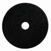 "Boss Cleaning Equipment 22"" Black-Strip Pad - Pkg Qty 5"