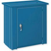 """Drain Top Repair Bench w/ Cabinet - 36""""W x 20""""D x 35""""H Blue"""