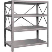 "Pucel™ Shelf, 42""W x 18""D, 14 Gauge, Gray"