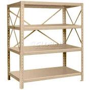 "Pucel™ Shelf , 48""W x 24""D, 14 Gauge, Putty"