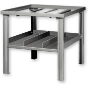 Global Industrial™ Gas Welding Bench w/ Center Drawer Gray