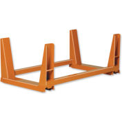 "Twin Rack U-Frame - 48""W Black"