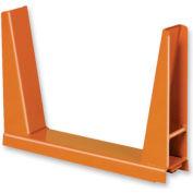 Single Rack U-Frame - 60,000 Lbs. Capacity Black