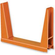 Single Rack U-Frame - 60,000 Lbs. Capacity Gray