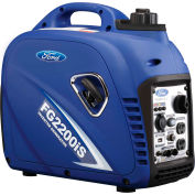 Ford FG2200IS, 2000 Watts, Inverter Generator, Gasoline, Recoil Start, 120V