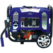 Ford FG5250PBR, 4250/3850 Watts, Portable Generator, Gasoline/LP, Electric/Recoil Start, 120/240V