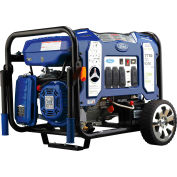 Ford FG7750PBE, 6250/6000 Watts, Portable Generator, Gasoline/LP, Electric/Recoil Start, 120/240V