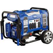 Ford FG7750PE, 6250 Watts, Portable Generator, Gasoline, Electric/Recoil Start, 120/240V