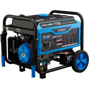 Pulsar PG7500B,7500 Watt Generator, Dual Fuel-Gas & LP Engine, Recoil/Electric Start, Battery Incl.