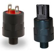 "PVS Sensors 151439, HPA-2-2M-C-SP(Adj. 15-80 PSI) Model 2, Nylon, 1/8 NPT, SPDT, 1/4"" Spades"