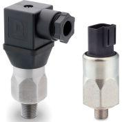 "PVS Sensors 152048, BPA-1A-2M-C-FL(Adj. 65-300 PSI)Model 1A, Steel, 1/8 NPT, SPDT, 18"" Flying Leads"
