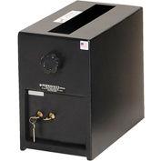 "Perma-Vault Depository Safe PV-814-K - Dual Custody Safe Deposit Lock, Small 8""W x 11-3/4""D x 13""H"