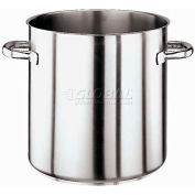 "Stainless Steel Stock Pot, No Lid, 18 Qt, 11""H, 11"" Diameter"