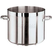 "Grand Gourmet, Stainless Steel Low Stockpot, 15 1/4 Qt, 9""H, 11"" Diameter"