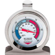 """Stainless Steel Refrigerator/Freezer Thermometer, 2-3/8""""W, 3""""H - Min Qty 8"""