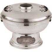 "Aluminum Thai Hot Pot W/Central Chimney, 9""H, 11"" Diameter - Min Qty 2"