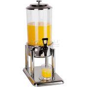 "Polypropylene Juice Dispenser, 7.4 Qt, 8-5/8""L, 14-1/2""W, 22""H"