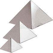 "Stainless Steel Pyramid Mold, 4-3/4""L, 4-3/4""W, 3-1/8""H - Min Qty 5"
