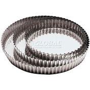 "Tin Tart Mold W/Removable Bottom, 1""H, 11-7/8"" Diameter - Min Qty 4"
