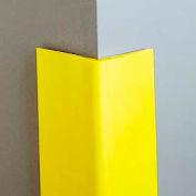 "Vinyl-4"" Wing Corner Guard, 6'H, Safety Yellow, Heavy Duty Vinyl"