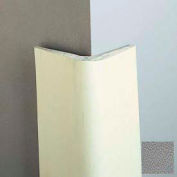 "Gray Natural Rubber, Chamferred Corner Guard, 4"" Wings, 8'H, Gray, Natural Rubber"