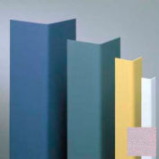 "Vinyl Surface Mounted Corner Guard, 90° Corner, 1-1/2"" Wings, 4'H, Lavender Heather, Drilled"